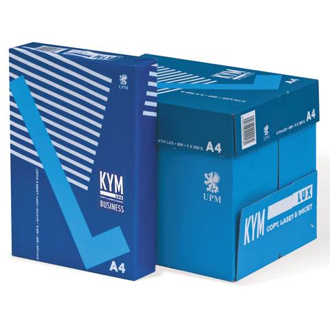 Офисная белая бумага KYM Lux Business класс «B+»