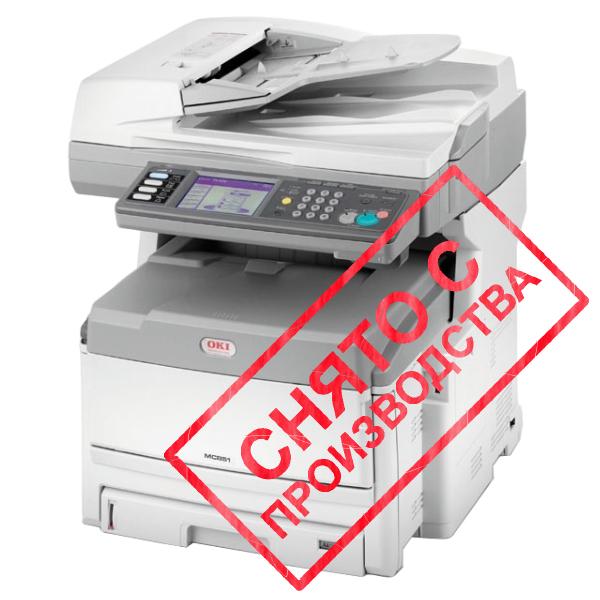 копир-принтер-сканер-факс OKI MC851DN+ (43967063)