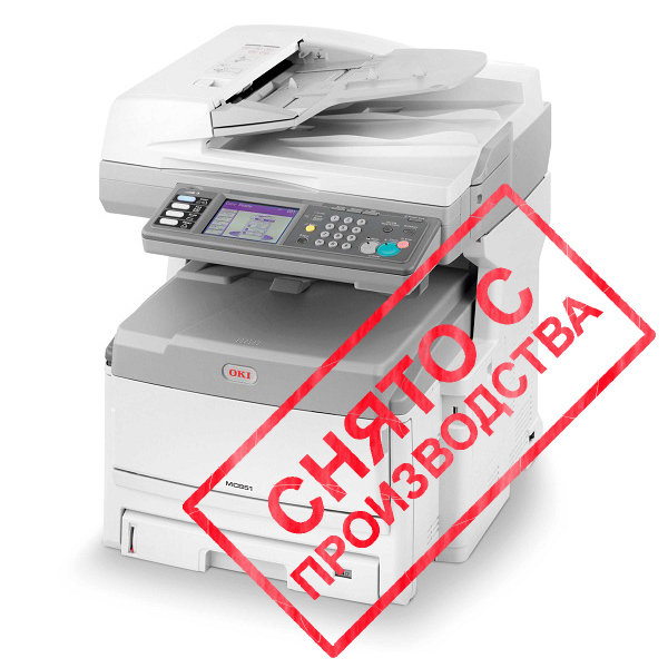 копир-принтер-сканер-факс OKI MC861DN+ (01318204)