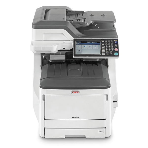 принтер-копир-сканер-факс OKI MC873DN (45850204)
