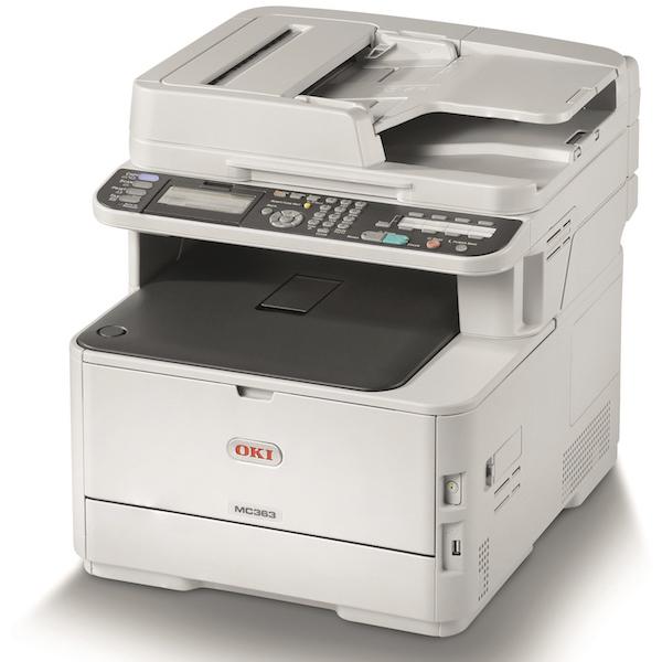 копир-принтер-сканер-факс OKI MC363DNW (46403512)