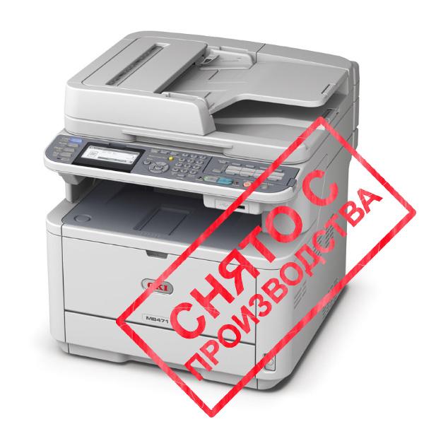 копир-принтер-сканер-факс OKI MB471DN (44871104)