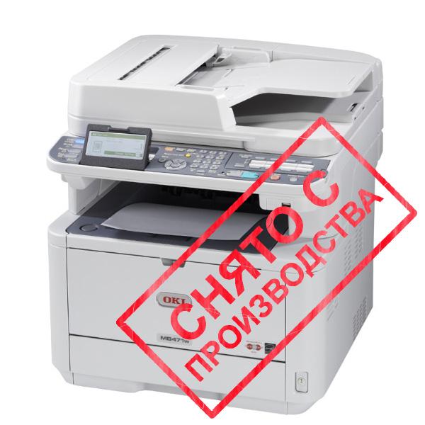 копир-принтер-сканер-факс OKI MB471DNW (Wi-Fi) (44871204)