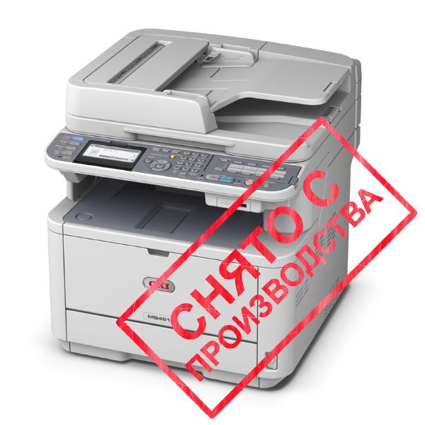 копир-принтер-сканер-факс OKI MB491DN (44871304)