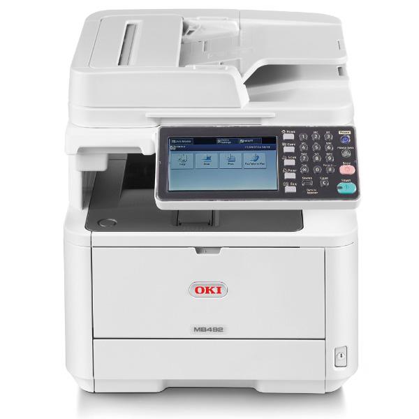 копир-принтер-сканер-факс OKI MB492DN (45762112)