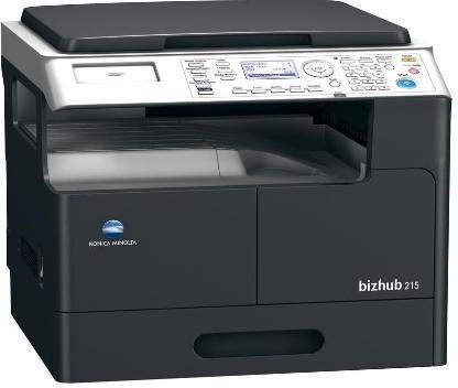 копир-принтер-сканер KONICA MINOLTA bizhub 215