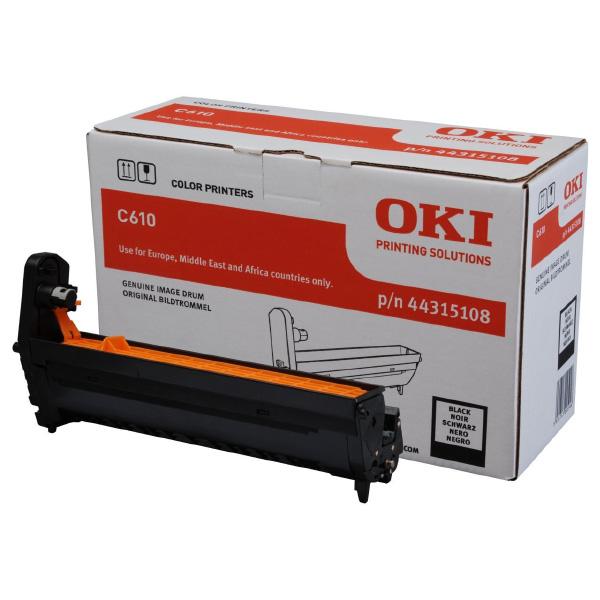 Картридж-фотобарабан для OKI C610 черный (44315108)