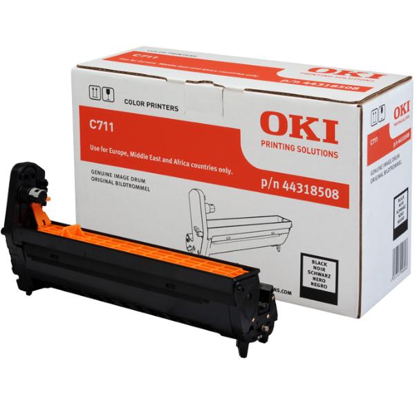 Картридж-фотобарабан для OKI C711 черный (44318508)