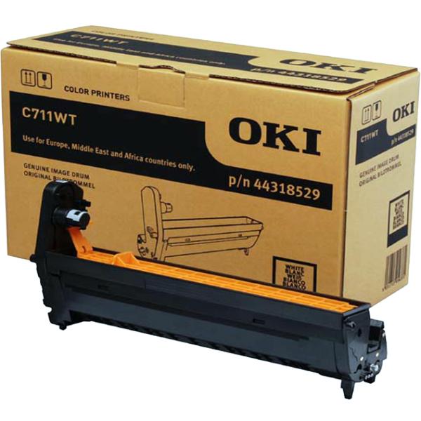 Картридж-фотобарабан для OKI C711WT белый (44318529)