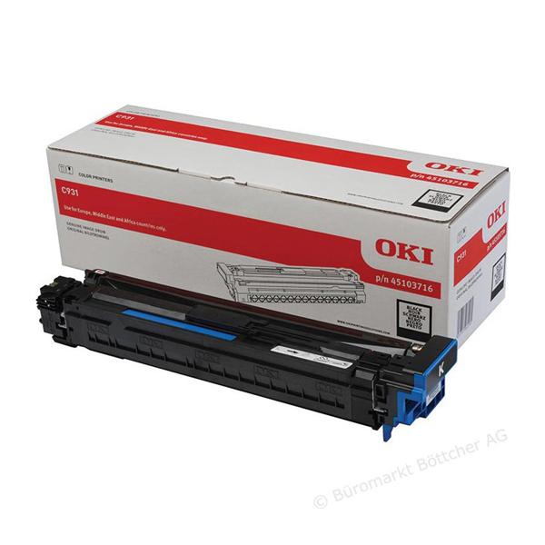 Картридж-фотобарабан для OKI C911, C931 черный (45103716)