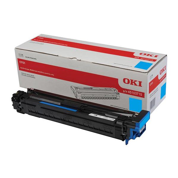Картридж-фотобарабан для OKI C911, C931 голубой (45103715)