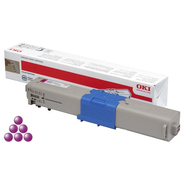 Тонер-картридж для OKI C511, C531, MC562 пурпурный (5,000 стр.) (44469753)