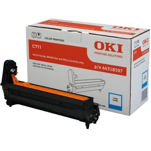 Картридж-фотобарабан для OKI C711 голубой (44318507)