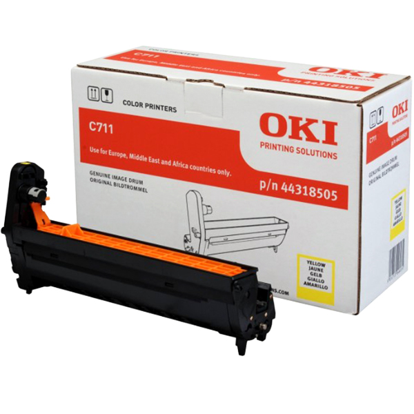 Картридж-фотобарабан для OKI C711 желтый (44318505)