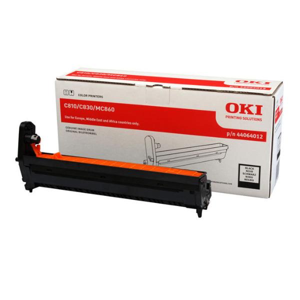 Картридж-фотобарабан для OKI C801, C821, C810, C830 черный (44064012)