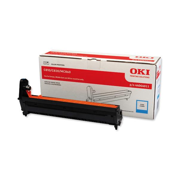 Картридж-фотобарабан для OKI C801, C821, C810, C830 голубой (44064011)