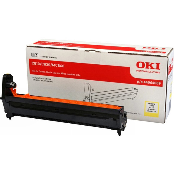 Картридж-фотобарабан для OKI C801, C821, C810, C830 желтый (44064009)