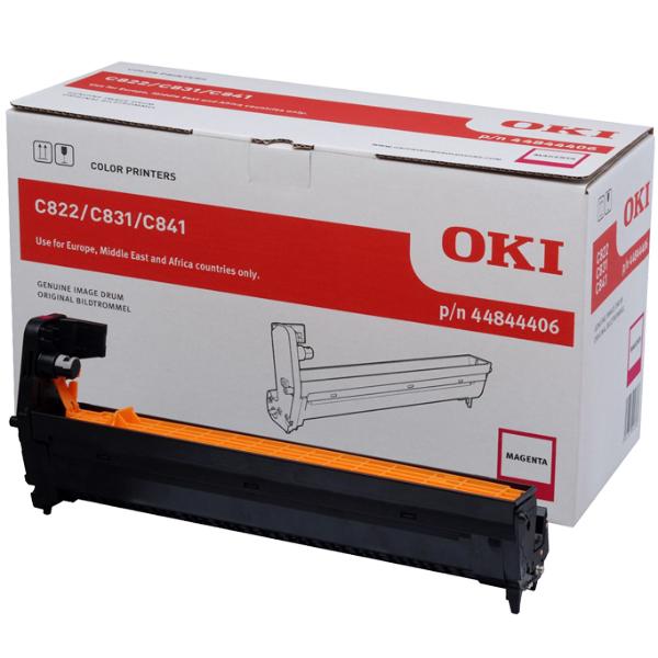 Картридж-фотобарабан для OKI C822, C831, C841 пурпурный (44844406)