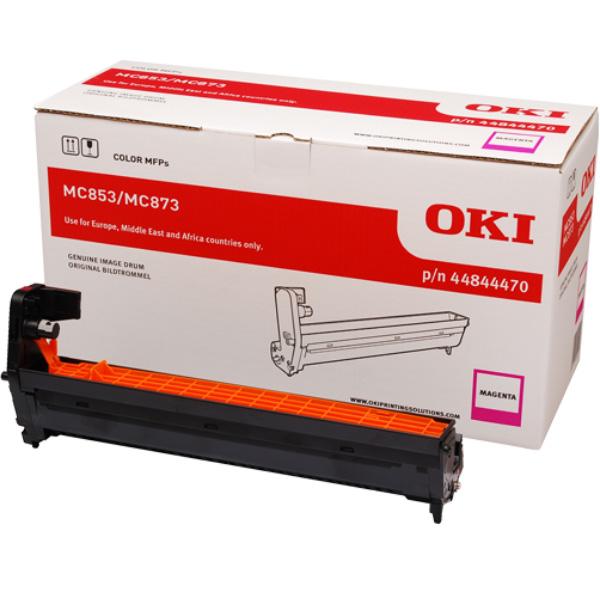 Картридж-фотобарабан для OKI MC853, MC873 пурпурный (44844470)