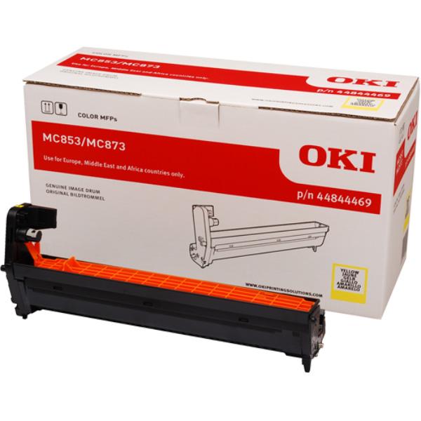 Картридж-фотобарабан для OKI MC853, MC873 желтый (44844469)