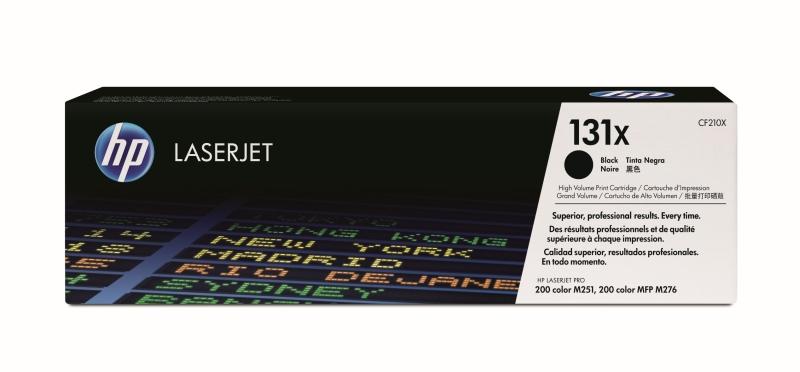 Тонер-картридж HP 131X (CF210X) черный