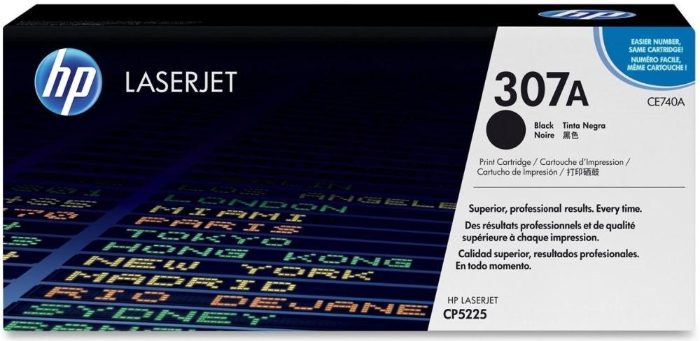 Тонер-картридж HP 307A (CE740A) черный