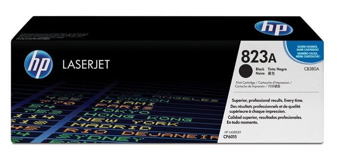 Тонер-картридж HP 823A (CB380A) черный