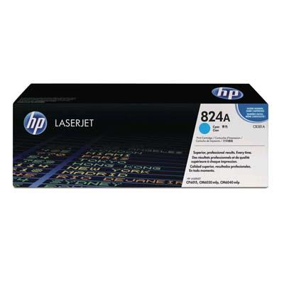Тонер-картридж HP 824A (CB381A) голубой