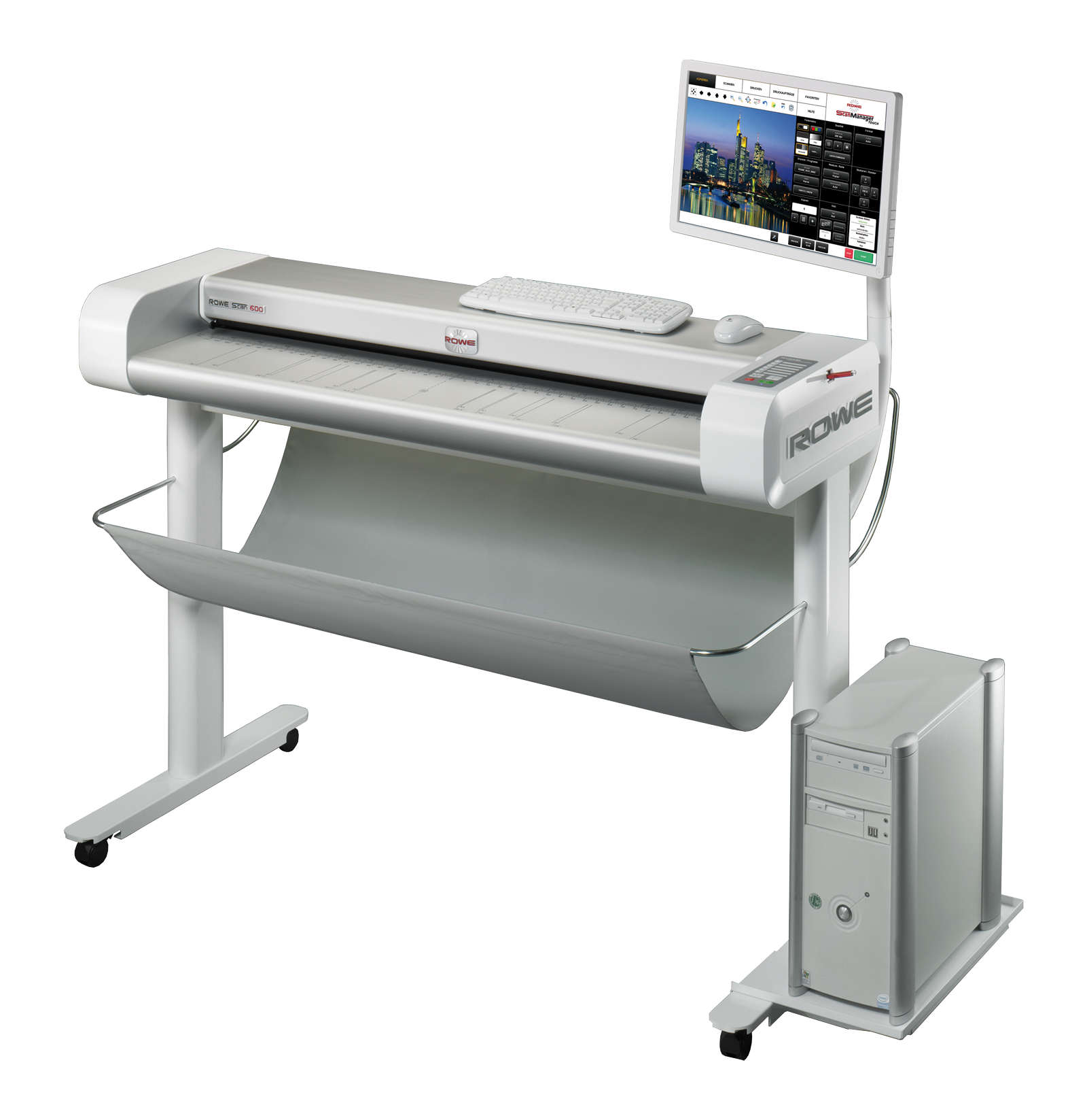 Широкоформатный сканер ROWE Scan 650i-44″