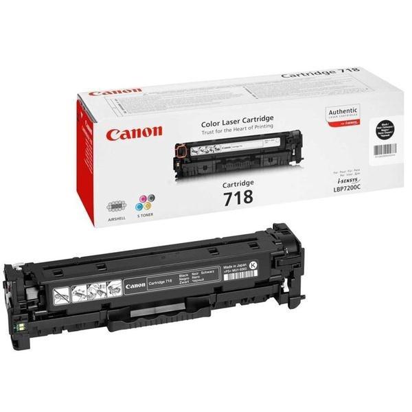 Принт-картридж Canon 718 черный (2662B002)
