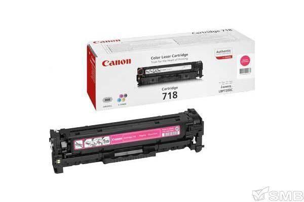 Принт-картридж Canon 718 пурпурный (2660B002)
