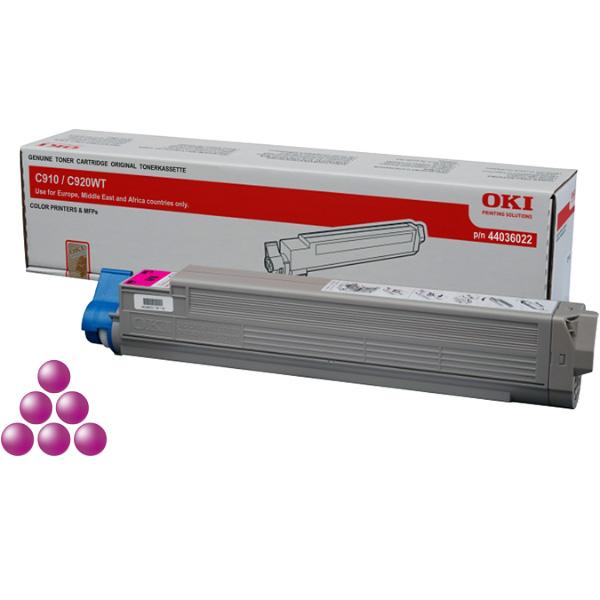 Тонер-картридж для OKI C910, C920WT пурпурный (15,000 стр.) (44036022)