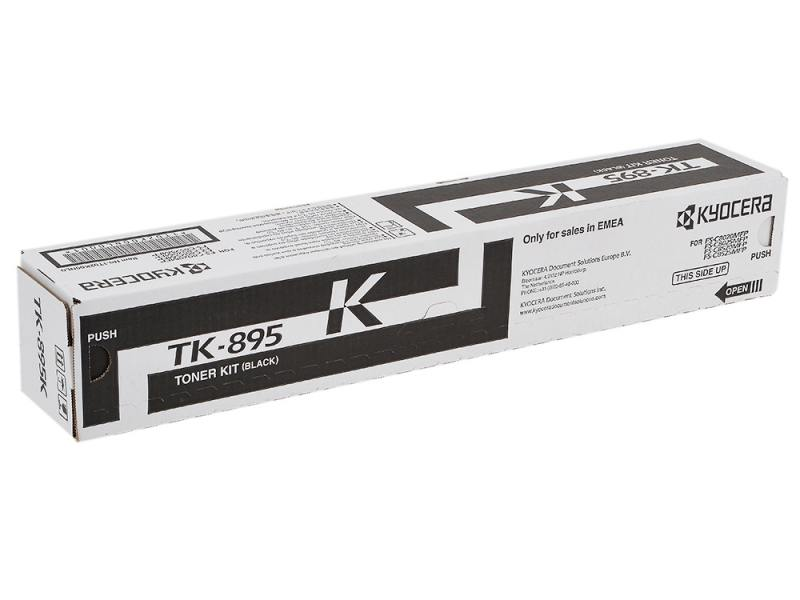 Тонер-картридж Kyocera TK-895K черный