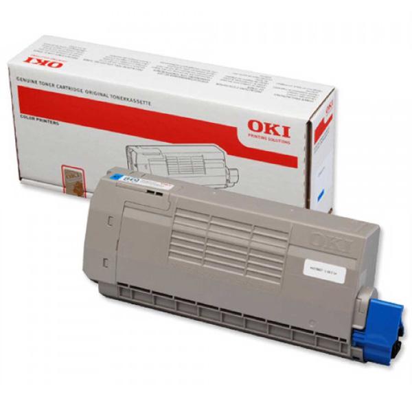Тонер-картридж для OKI C711, C710 голубой (11,500 стр.) (44318623)