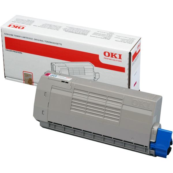 Тонер-картридж для OKI C711, C710 пурпурный (11,500 стр.) (44318622)