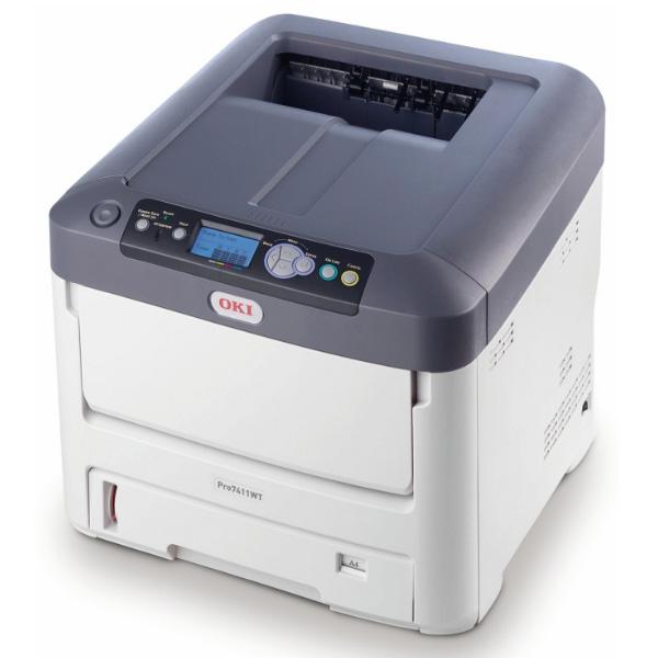 Принтер OKI Pro7411WT с белым тонером (44205445)