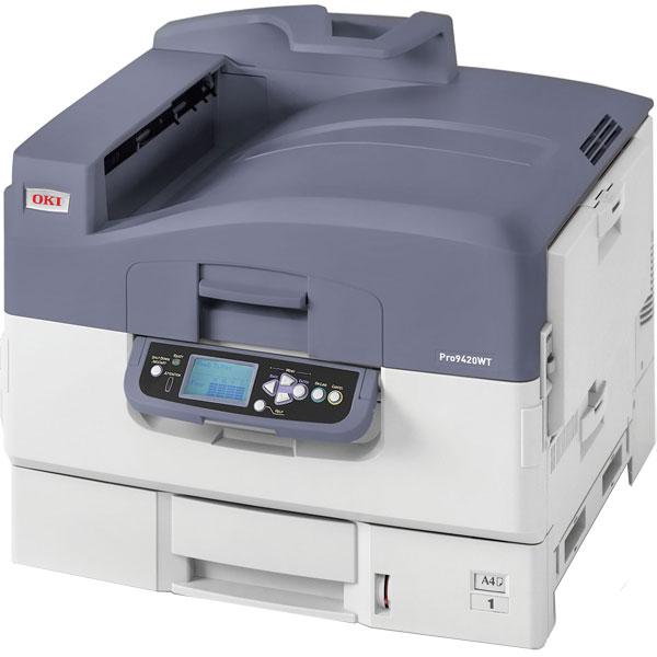 Принтер OKI Pro9420WT с белым тонером (44043534)