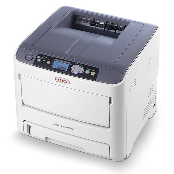Принтер OKI Pro6410 NeonColor с неоновыми тонерами (44205344)