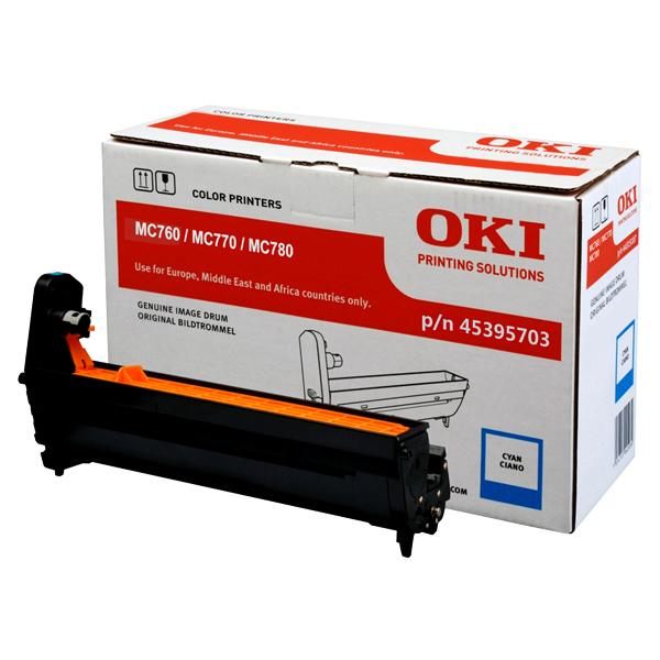 Картридж-фотобарабан OKI 45395703 для MC760, MC770, MC780 голубой
