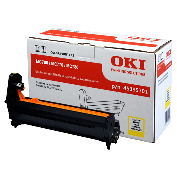 Картридж-фотобарабан для OKI MC760, MC770, MC780 желтый