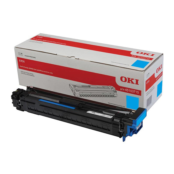 Картридж-фотобарабан OKI 45103715 для C911, C931 голубой