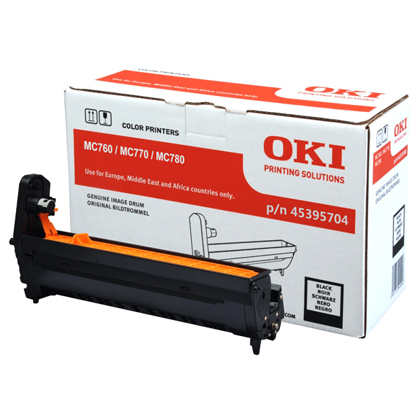 Картридж-фотобарабан OKI 45395704 для MC760, MC770, MC780 черный