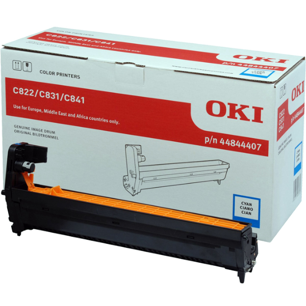Картридж-фотобарабан OKI 44844407 для C822, C831, C841 голубой