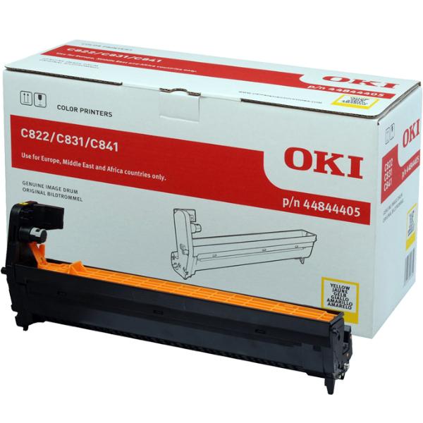 Картридж-фотобарабан OKI 44844405 для C822, C831, C841 желтый