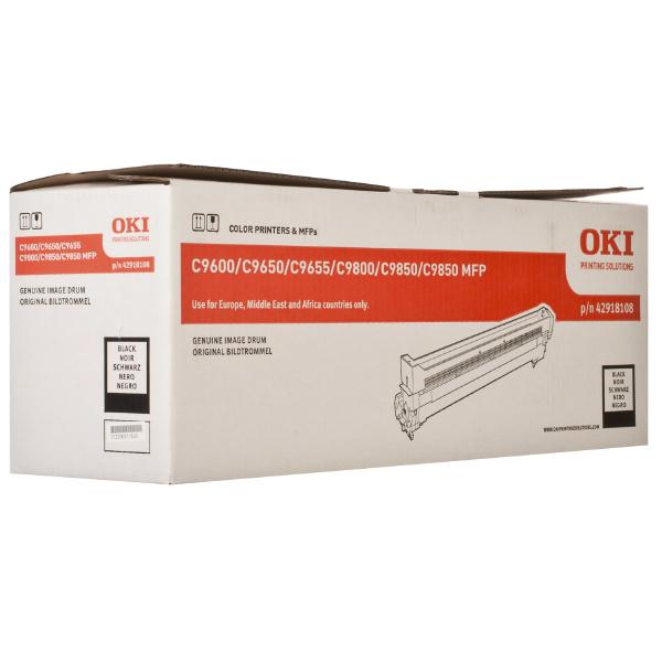 Картридж-фотобарабан OKI 42918108 для C9600, C9650, C9655 черный