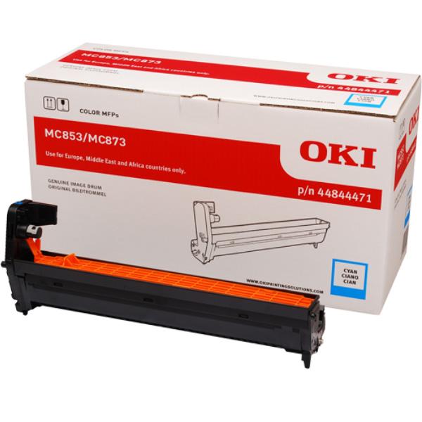 Картридж-фотобарабан для OKI MC853, MC873 голубой (44844471)