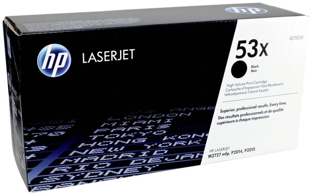 Принт-картридж HP 53X (Q7553X)