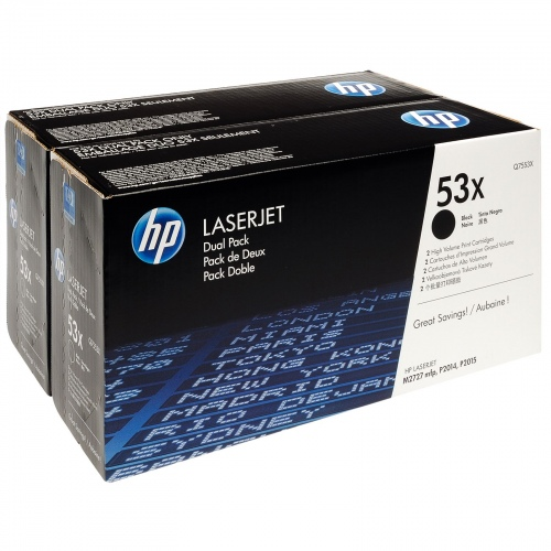 Принт-картридж HP 53X (Q7553XD)