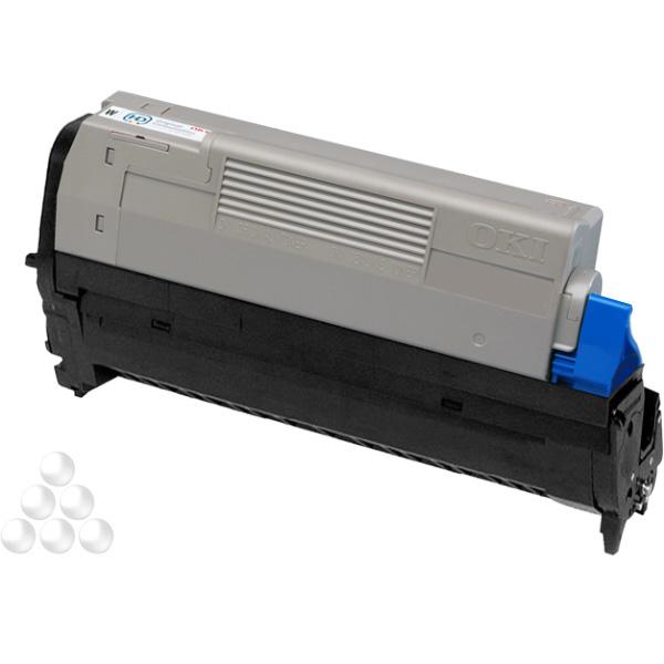 Печатный картридж OKI 46298004 для Pro6410 неоново-белый (4,000 стр.)