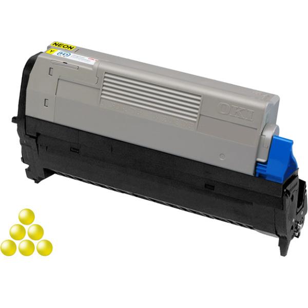 Печатный картридж OKI 46298001 для Pro6410 неоново-желтый (6,000 стр.)